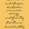 Poster Dichtbij
